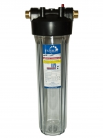 Купить фильтр Гейзер Корпус 20ВВ прозрачный за 1 742 грн. с доставкой и установкой по Донецку, фото, отзывы